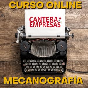 curso online de mecanografia